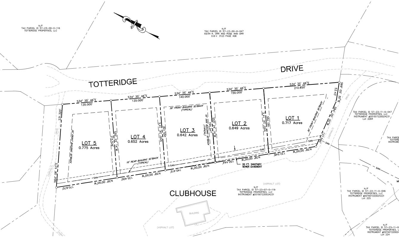 clubhouse plot plan